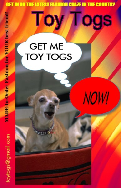 Get Toy Togs for YOUR best friend!