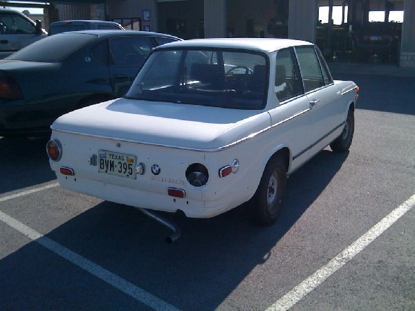 BMW 2002 at Auto Specialists in Georgetown Texas - iPhone photo - photo by