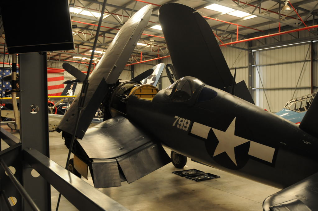 Airplanes at the Planes Of Fame Museum in Chino California