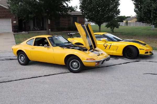 1972 Opel GT Hutto Texas 08/24/10 - photo by Jeff Barringer