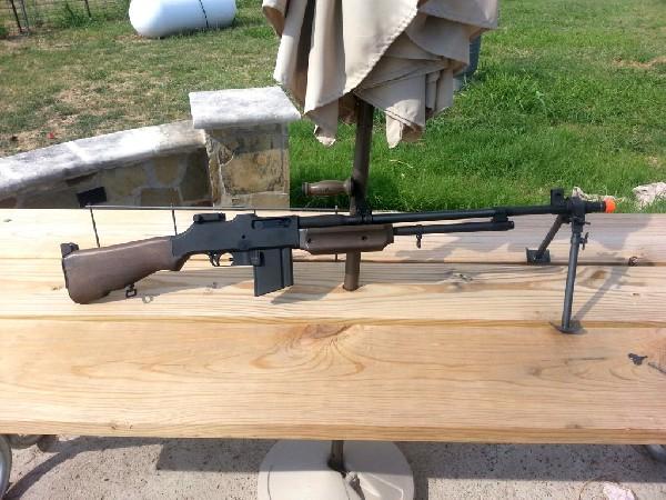 M1918 BAR Browning Automatic Rifle Airsoft Gun