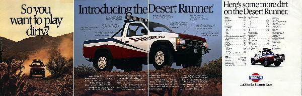 Nissan Desert Runner 4x4 Brochure