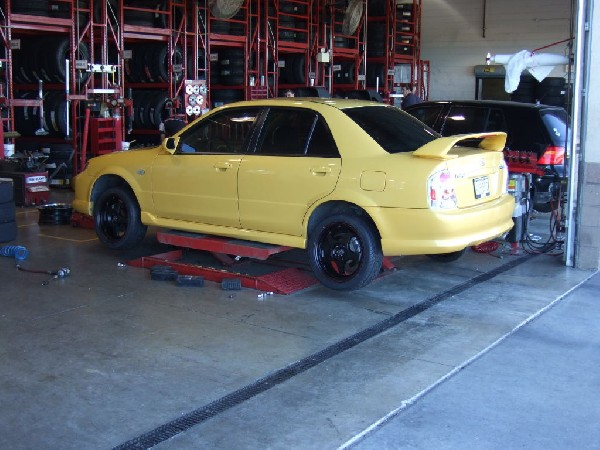 Mazdaspeed Wheel/Tire Upgrade